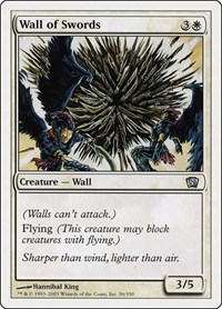 Wall of Swords, Magic: The Gathering, 8th Edition