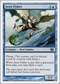 Aven Fisher, Magic: The Gathering, 8th Edition