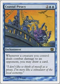 Coastal Piracy, Magic: The Gathering, 8th Edition