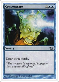 Concentrate, Magic: The Gathering, 8th Edition