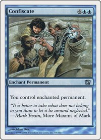 Confiscate, Magic: The Gathering, 8th Edition