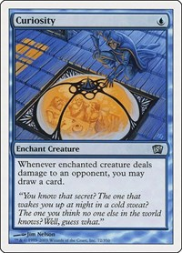Curiosity, Magic: The Gathering, 8th Edition