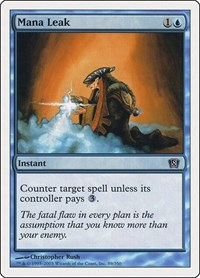 Mana Leak, Magic: The Gathering, 8th Edition
