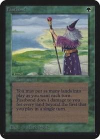 Fastbond, Magic: The Gathering, Alpha Edition