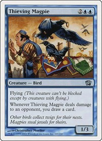 Thieving Magpie, Magic: The Gathering, 8th Edition