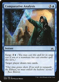 Comparative Analysis, Magic: The Gathering, Oath of the Gatewatch