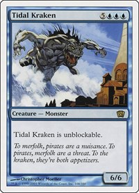 Tidal Kraken, Magic: The Gathering, 8th Edition