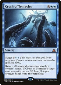Crush of Tentacles, Magic: The Gathering, Oath of the Gatewatch