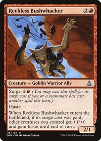 Reckless Bushwhacker, Magic: The Gathering, Oath of the Gatewatch