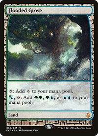 Flooded Grove, Magic: The Gathering, Zendikar Expeditions
