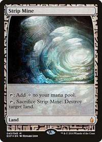 Strip Mine, Magic: The Gathering, Zendikar Expeditions