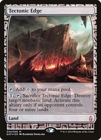 Tectonic Edge, Magic: The Gathering, Zendikar Expeditions