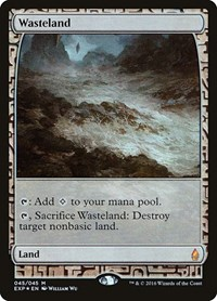 Wasteland, Magic: The Gathering, Zendikar Expeditions