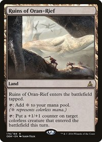Ruins of Oran-Rief, Magic: The Gathering, Oath of the Gatewatch