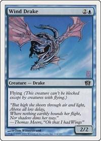 Wind Drake, Magic: The Gathering, 8th Edition