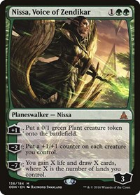Nissa, Voice of Zendikar, Magic, Oath of the Gatewatch