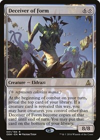 Deceiver of Form, Magic: The Gathering, Oath of the Gatewatch