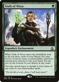 Oath of Nissa, Magic: The Gathering, Oath of the Gatewatch