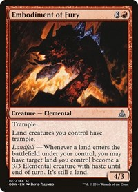 Embodiment of Fury, Magic, Oath of the Gatewatch
