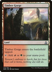 Timber Gorge, Magic: The Gathering, Oath of the Gatewatch