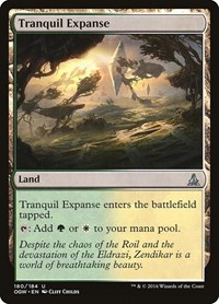 Tranquil Expanse, Magic: The Gathering, Oath of the Gatewatch