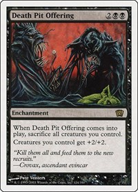 Death Pit Offering, Magic: The Gathering, 8th Edition