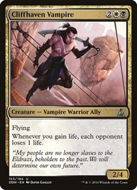 Cliffhaven Vampire, Magic: The Gathering, Oath of the Gatewatch