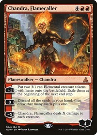 Chandra, Flamecaller, Magic: The Gathering, Oath of the Gatewatch