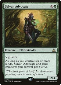 Sylvan Advocate, Magic: The Gathering, Oath of the Gatewatch
