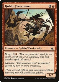 Goblin Freerunner, Magic: The Gathering, Oath of the Gatewatch