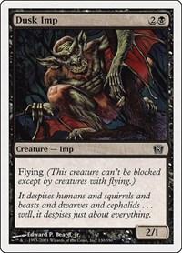 Dusk Imp, Magic: The Gathering, 8th Edition