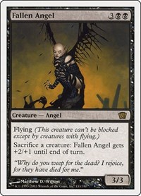Fallen Angel, Magic: The Gathering, 8th Edition