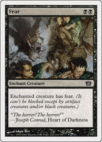 Fear, Magic: The Gathering, 8th Edition