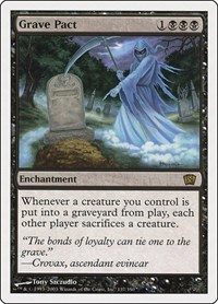 Grave Pact, Magic: The Gathering, 8th Edition