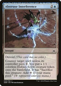 Abstruse Interference, Magic: The Gathering, Oath of the Gatewatch