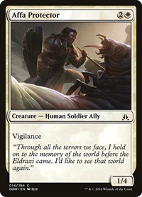 Affa Protector, Magic: The Gathering, Oath of the Gatewatch