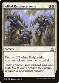 Allied Reinforcements, Magic: The Gathering, Oath of the Gatewatch