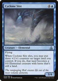 Cyclone Sire, Magic: The Gathering, Oath of the Gatewatch