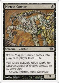 Maggot Carrier, Magic: The Gathering, 8th Edition