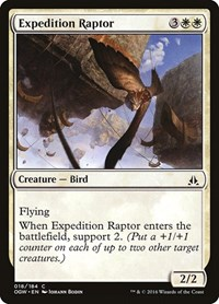 Expedition Raptor, Magic: The Gathering, Oath of the Gatewatch