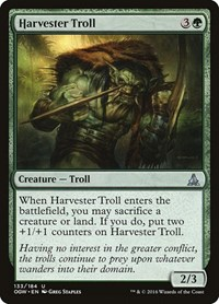 Harvester Troll, Magic: The Gathering, Oath of the Gatewatch