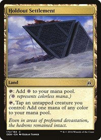 Holdout Settlement, Magic, Oath of the Gatewatch