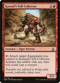 Kazuul's Toll Collector, Magic: The Gathering, Oath of the Gatewatch