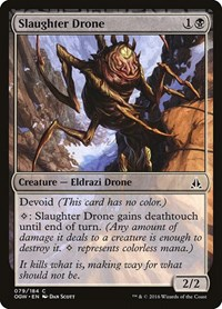 Slaughter Drone, Magic: The Gathering, Oath of the Gatewatch