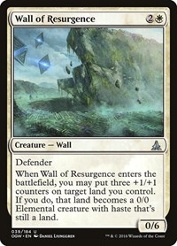 Wall of Resurgence, Magic: The Gathering, Oath of the Gatewatch