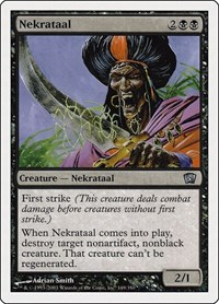 Nekrataal, Magic: The Gathering, 8th Edition