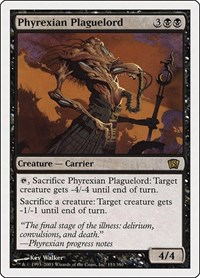 Phyrexian Plaguelord, Magic: The Gathering, 8th Edition