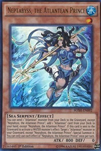Neptabyss, the Atlantean Prince, YuGiOh, Breakers of Shadow