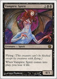Vampiric Spirit, Magic, 8th Edition
