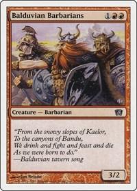 Balduvian Barbarians, Magic, 8th Edition